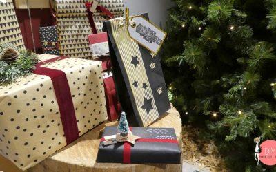 Weihnachtsgeschenke schön verpacken - Bastelideen