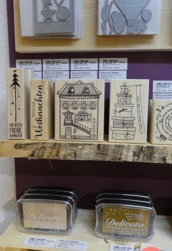 Stempeln und Karten basteln