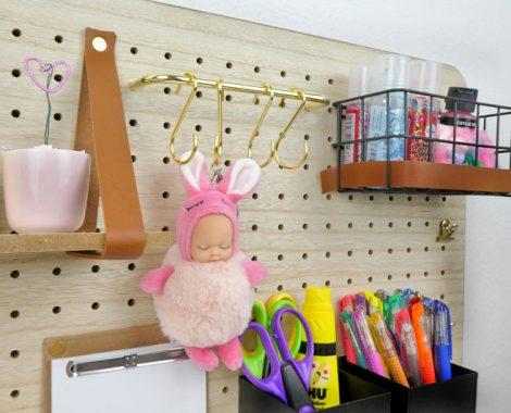 Einrichten, dekorieren und aufräumen im Kinderzimmer