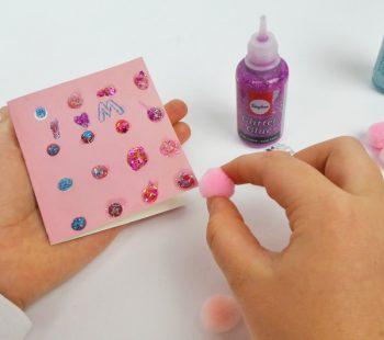 Karte zum Muttertag oder Einladungskarte zum Kindergeburtstag basteln