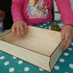 Holzbilderrahmen zusammenbauen - Story in a box