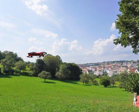 Flug mit Quadrocopter - so können Kinder die Drohne steuern