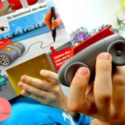 Robotik für Anfänger ab dem Vorschulalter : Sensorerkennung Auto zum Spielen