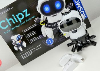 Roboter bauen mit Kindern - Chipz Infrarotsensor Erkennung