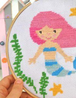 Handarbeit crochet lernen