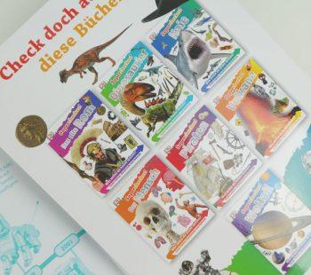 Übersicht über die Superchecker Buchreihe für Kinder