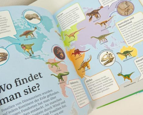 Bildlexikon für Kinder - mehr über Dinosaurier, Roboter und den Körper