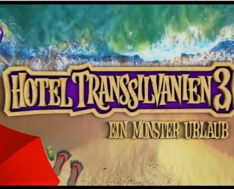 Hotel Transsilvanien 3 - Kinostart und Film DIY