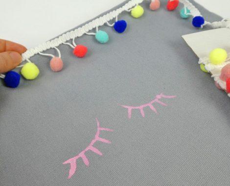 DIY mit Textilfarbe und Textildruck