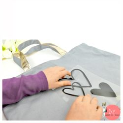 Anleitung Upcycling Tasche mit Bügelmotiv