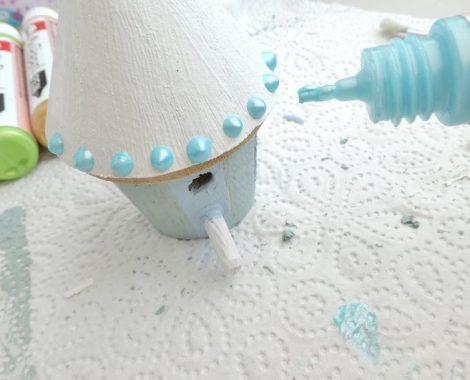 Perlenmuster mit dem Rayher Pearl Pen auftragen - kinderleichtes malen