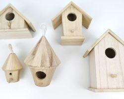 Vogelhaus Rohlinge von Rayher zum Basteln