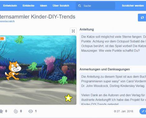 Kinder-DIY-Trends-mit-SCRATCH-Spiele-programmieren-lernen-Oberfläche
