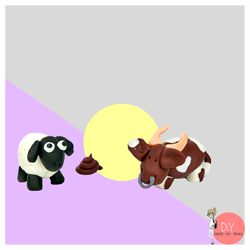 Anleitung Farm Tiere aus FIMO