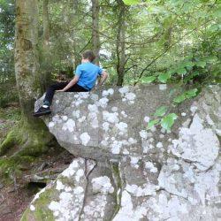 Kindergeburtstag und Ausflug in den Wald mit Schatzsuche