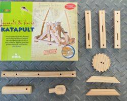 Technik und Physik lernen mit dem Bausatz von Leonardo da Vinci
