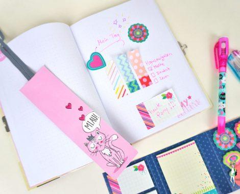 Bullet Journal und Tagebuch schreiben - Anleitung für Kinder