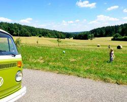 VW Bus VW T2 Bloggerkooperation