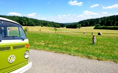 VW Bus VW T2 Bloggerkooperation