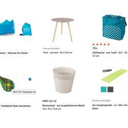 Produkte von MIFUS für einen Picknick Familienausflug