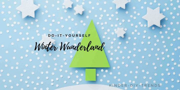 Anleitung - Winter Wunderland aus Papier basteln
